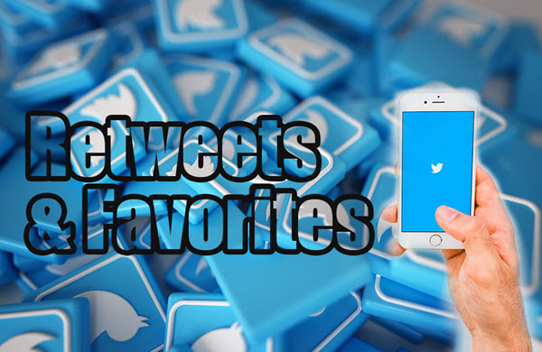 Get twitter retweets and Favorites